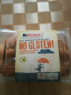 Pain blanc sans gluten - Produit