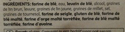 Baguette fitness - Ingrédients - fr