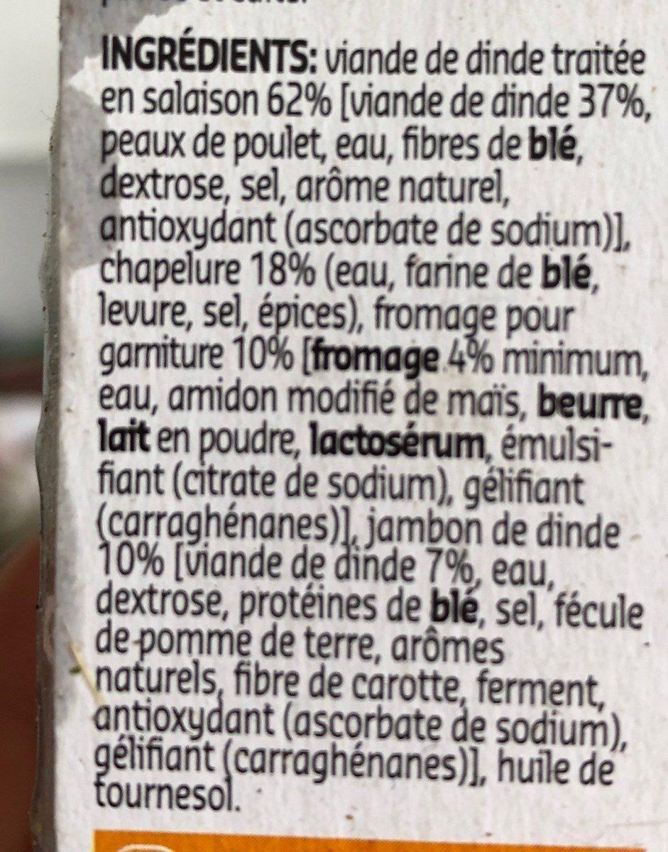 Cordon bleu - Ingrediënten