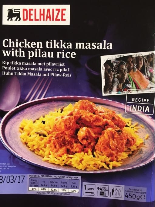 Chicken Tikka Masala With Pilau Rice - Product