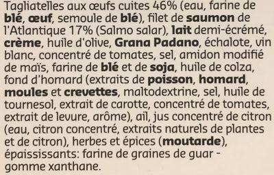 Saumon de l'Atlantique - Ingrediënten