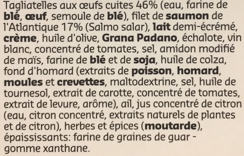 Saumon de l'Atlantique - Ingrediënten - fr