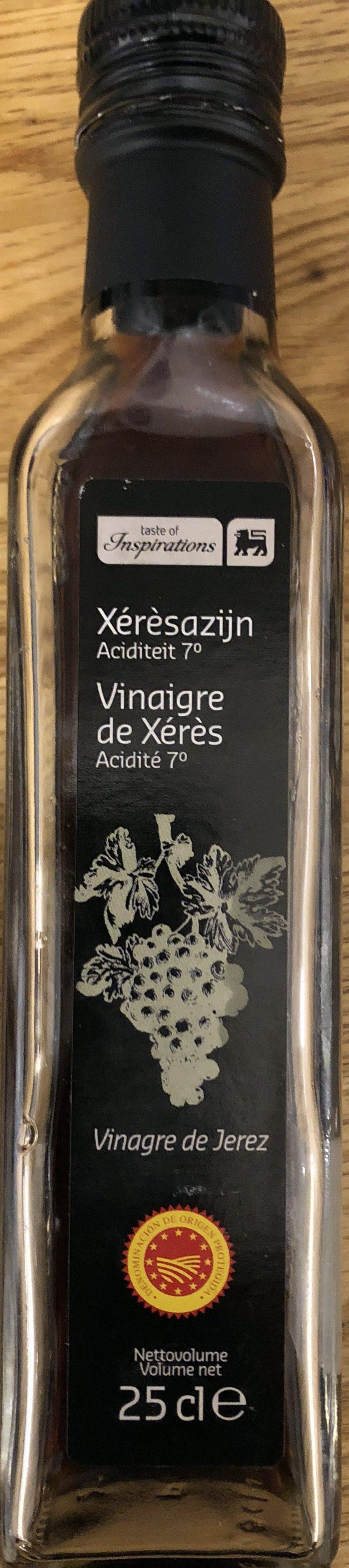Vinaigre de Xérès - Product - fr