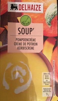 Soup' Crème de Potiron - Produit - fr