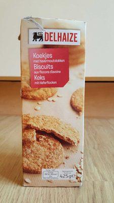 Biscuit aux flocons d'avoine - Product