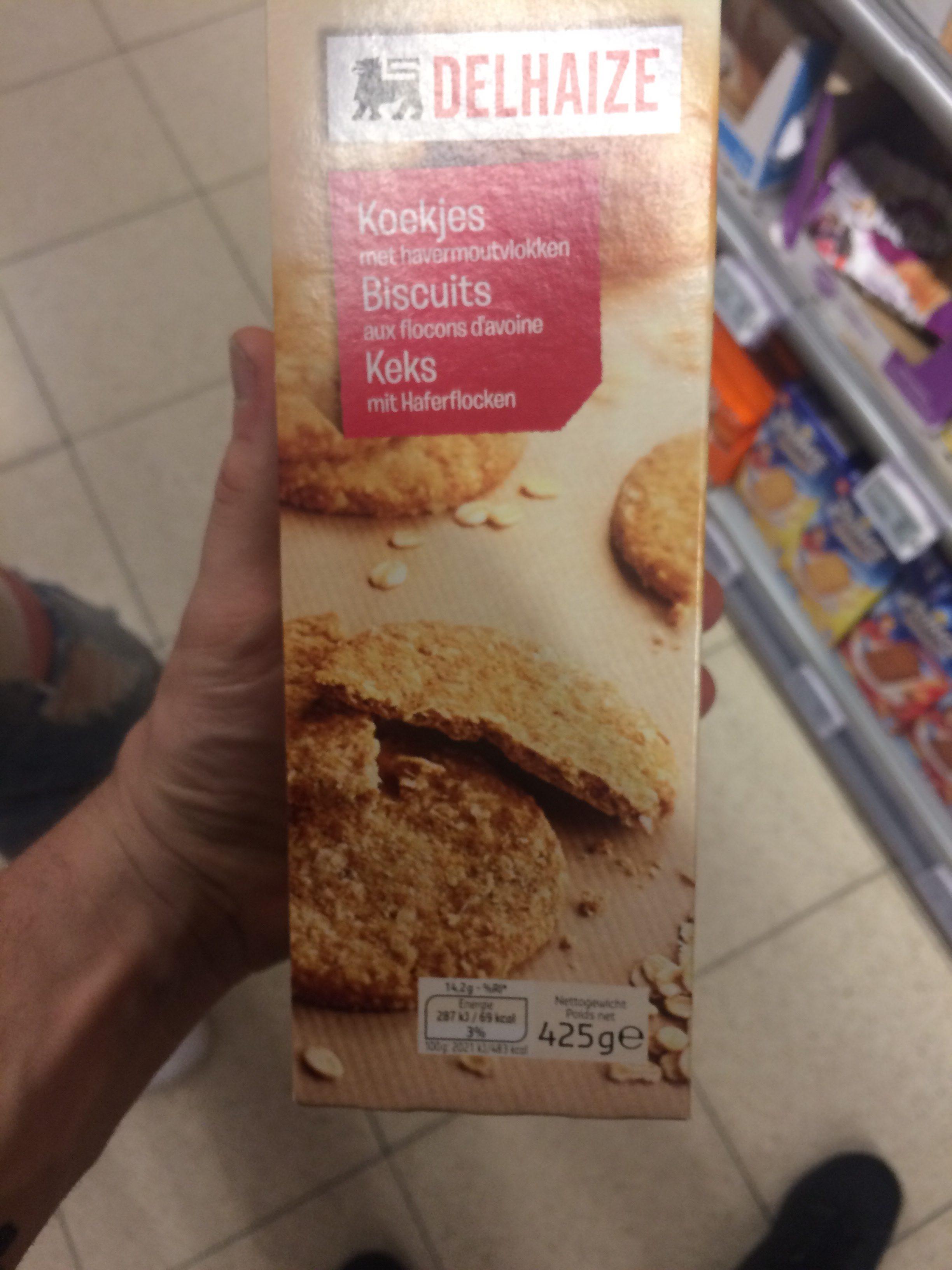 Biscuit aux flocons d'avoine - Ingrediënten