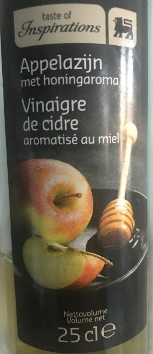 Vinaigre de cidre aromatisée au miel - Product - en