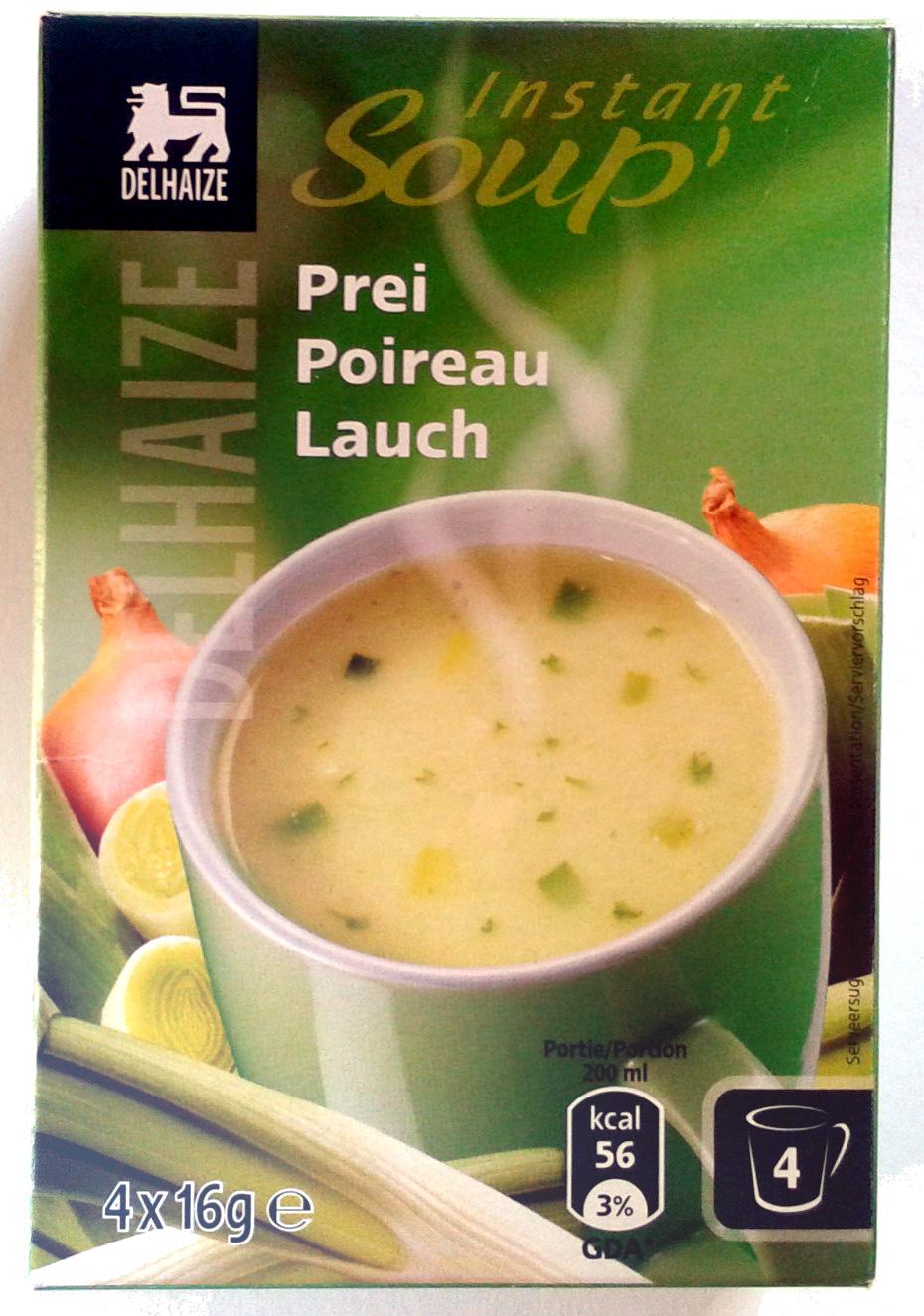 Instant soup' poireau - Product