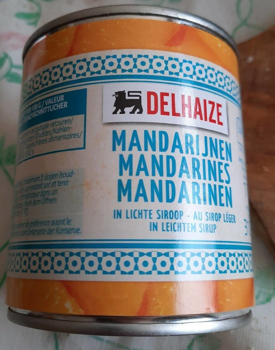 Mandarine au sirop - Produit - fr