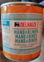Mandarines - Produit