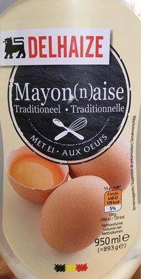 Mayonnaise oeufs - Product - fr