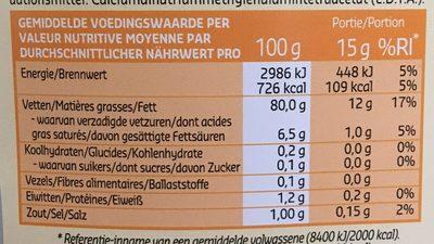 Mayonnaise oeufs - Voedingswaarden - fr