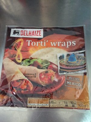 Torti' Wraps - Product