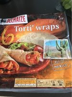 Tortilla Wrap - Produit - fr