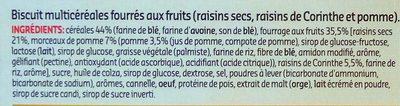 Biscuits Multicereales - Ingrédients - fr
