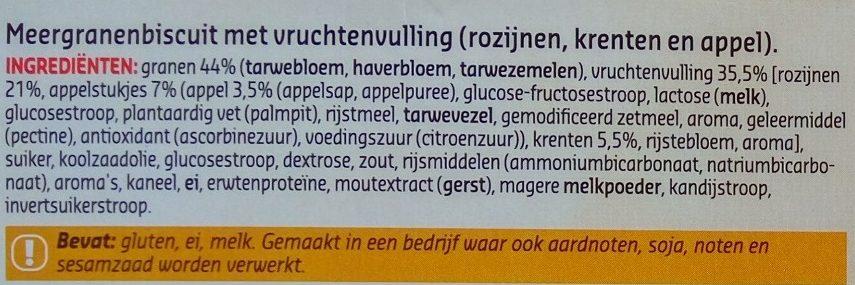Biscuits Multicereales - Ingrediënten - nl