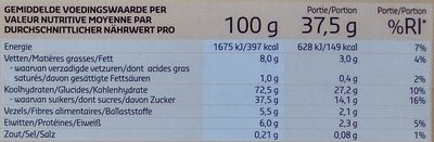Biscuits Multicereales - Nutrition facts - sr