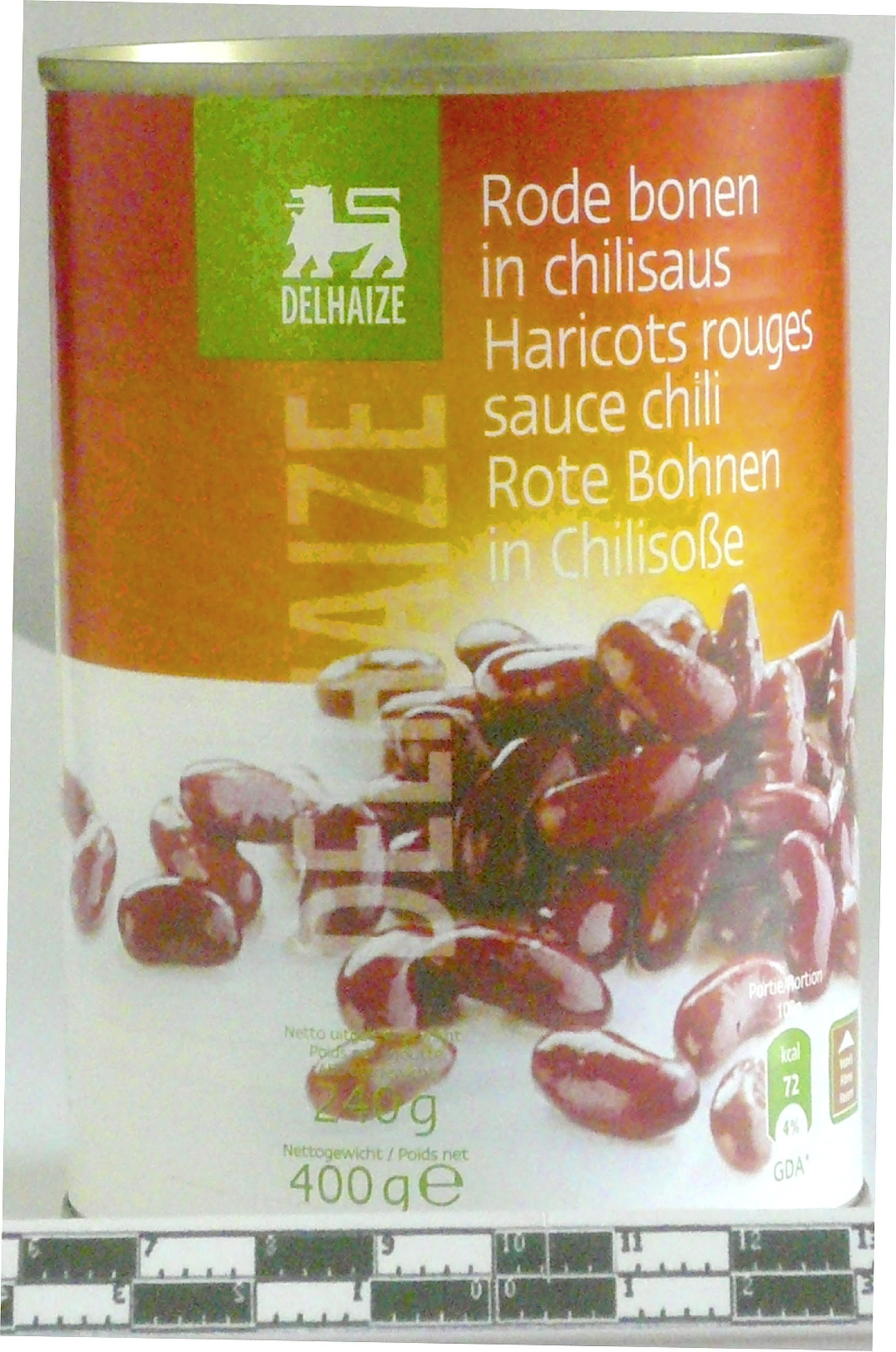 Haricots rouges sauce chili - Product - fr