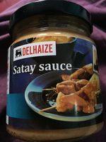 Satay sauce - Produit - fr