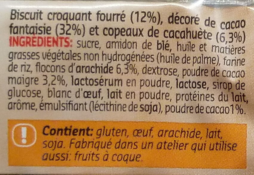 Eclairettes - Ingrediënten - fr