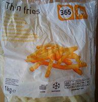 Frites allumettes - Product
