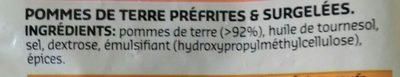 Pommes noisettes - Ingrédients - fr
