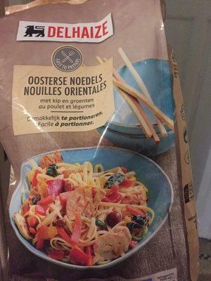 Nouilles Orientales au poulet et légumes - Produit