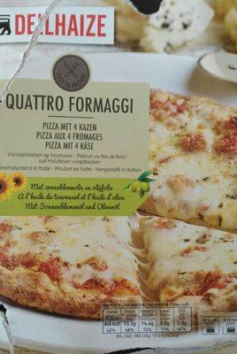 Pizza aux 4 fromages - Produit