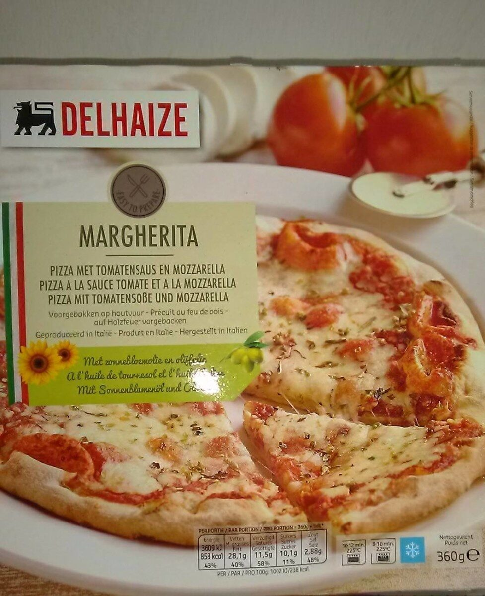 Pizza Margherita - Product