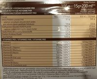Choco instant - Voedingswaarden - fr