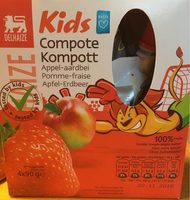 Compote kids Fraise - Product