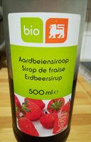 Sirop de fraise - Produit