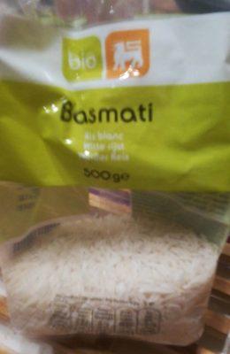Riz blanc basmati - Product - fr