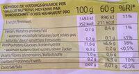 Riz basmati blanc - Valori nutrizionali - fr