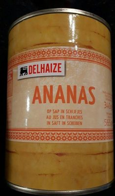 Ananas au jus en tranches - Product