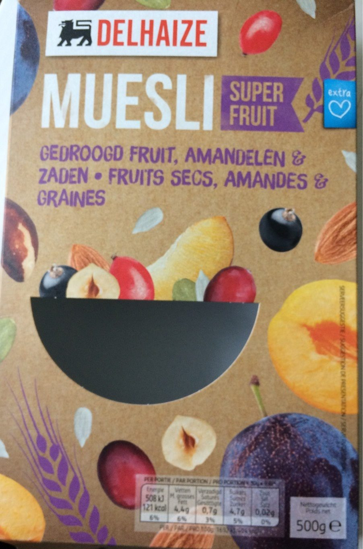 Muesli super fruit - Product