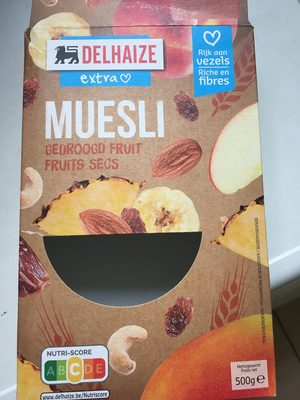 Muesli Dry Fruits - Product - fr