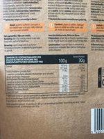 Muesli Croustillant à la Pomme avec Stévia - Nutrition facts - fr