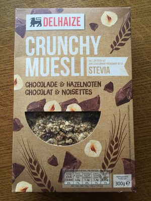 Crunchy muesli chocolat & noisettes - Produit