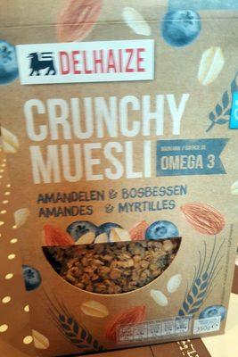 Crunchy muesli amandes et myrtille - Produit - fr