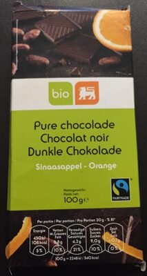 Chocolat noir orange - Product