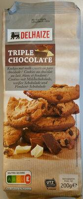 Cookies triple chocolat - Product - fr