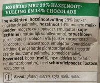 Cookies coeur fondant - Ingrediënten - nl