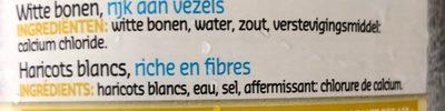 Haricots blancs - Ingrediënten