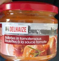 Boulettes à la sauce tomate - Product