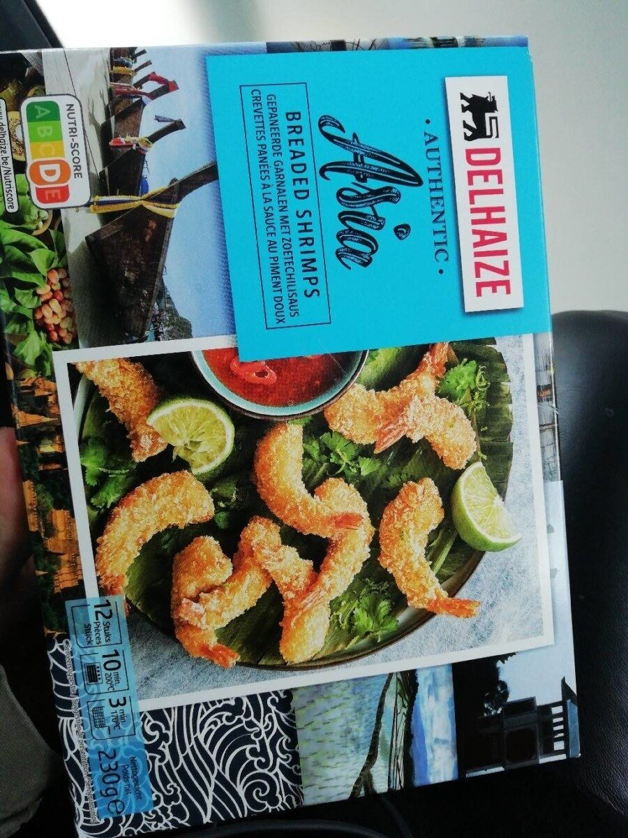 Authentic Asia Breaded Shrimps - Product