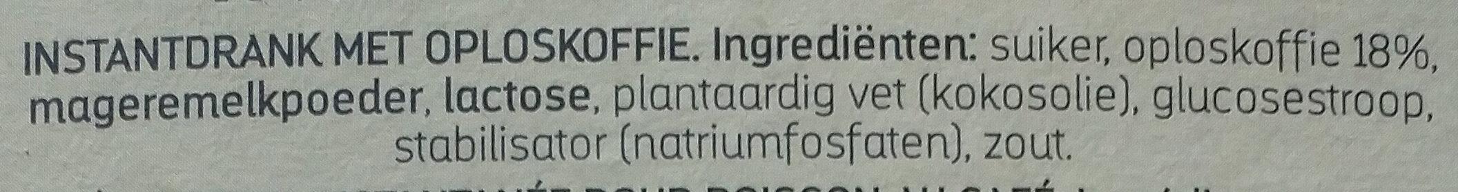 Instant cappuccino - Ingrediënten - nl