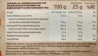 Petit-Beurre Chocolat au Lait - Voedingswaarden - fr