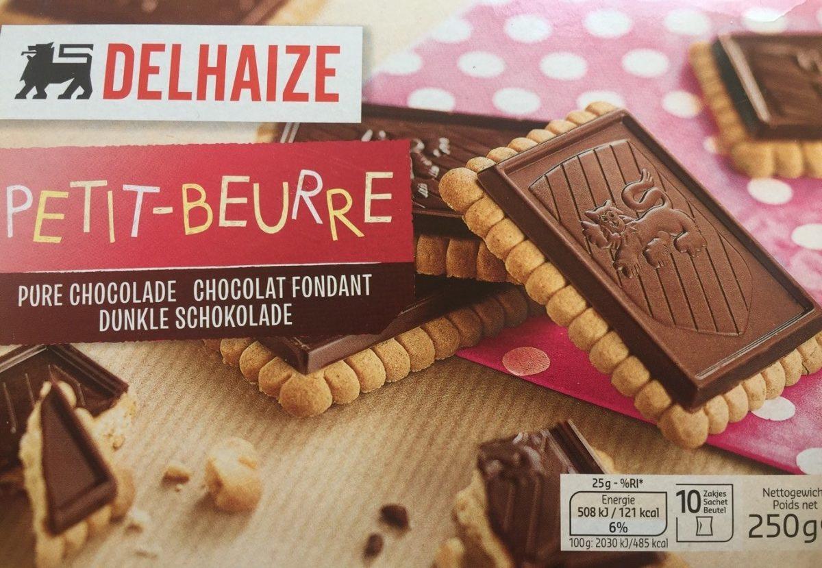 Petit beurre chocolat fondant - Product - fr