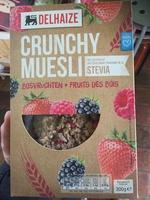 Crunchy muesli fruits des bois à la stevia - Product - fr